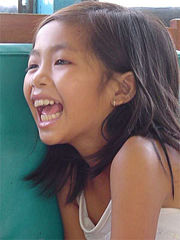 Happy Vietnamese girl
